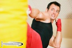 Kickboxen - Sportlicher Wettkampf   Sportakademie Richter