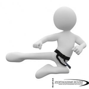 Kickboxen in der Sportakademie Richter als Gürtel