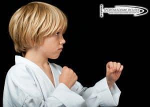 Selbstverteidigung für Kinder im Kindergartenalter.